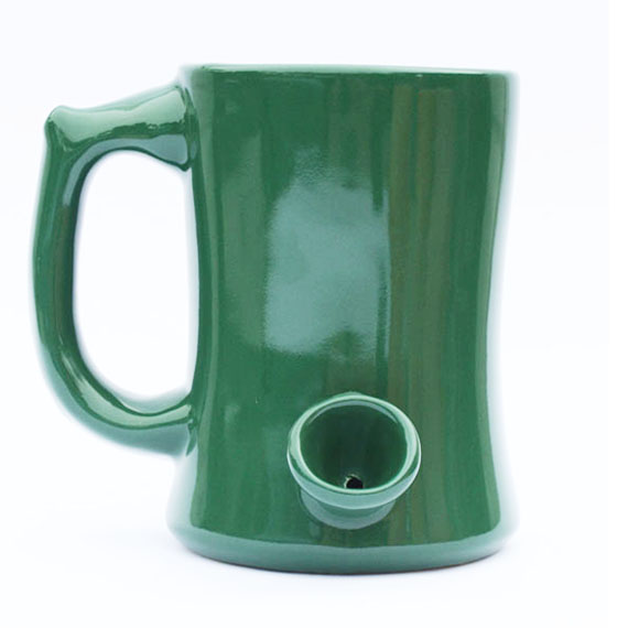 Sale! Rasta Coffee Cup Pipe  sc 1 st  iRollie & Coffee Mug Pipe For Easy Wake u0026 Bakes First of its Kind.