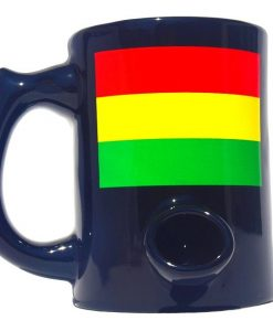 Rasta Coffee Cup Pipe